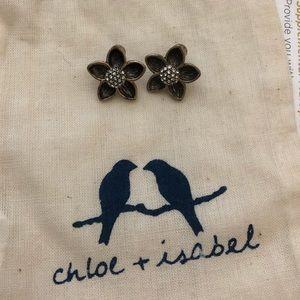 C+I Flower Earrings NWOT